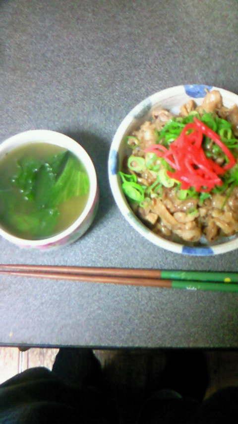 今日は久々に晩ご飯作りましたー
